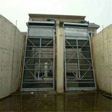 宇东制造2.5米*4.5米回转式格栅清污机安装角度75°栅条间隙10*100*100