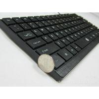 苹果巧克力键盘 笔记本小键盘 苹果USB便携式小键盘 黑色小键盘