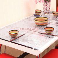 PVC软玻璃防水防油桌布磨砂水晶台布茶几垫餐桌布