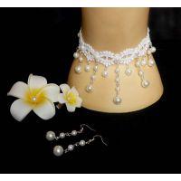 新款外贸饰品 新娘饰品珍珠颈链 SN0219