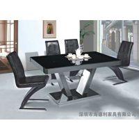 高档餐椅不锈钢火锅一体桌批发 火锅一体桌厂家直销