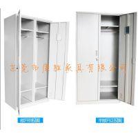 东莞【热销员工铁皮更衣柜生产厂家】(简约大气)宿舍更衣柜