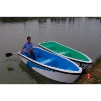 3米玻璃钢船 一头尖玻璃钢手划船 户外小渔船 水乡钓鱼船垂钓船