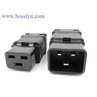 三芯品字电源插头 接线电源插头