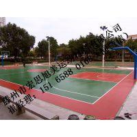 莱芜丙烯酸地坪漆施工。塑胶篮球场网球场。环保硅pu,硅pu塑胶球场