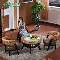 藤椅休闲椅阳台酒店餐桌椅餐厅桌椅椅子餐椅特价厂家直销AHC-101