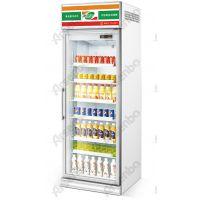 单门牛奶冷柜 立式风冷展示柜 美宜佳饮料冰箱 雅绅宝展示柜 单门鲜奶柜