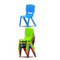 全塑4色椅