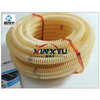 深圳鑫翔宇透明PU塑筋增强软管,食品级软管,卫生级塑料软管批发