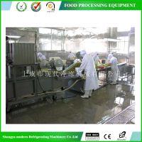 浙江上虞直供 净菜加工生产线 蔬菜配送加工流水线设备