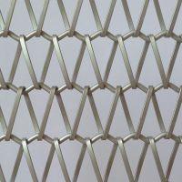 低价促销款式新颖金属网帘 有轨道 金属装饰网