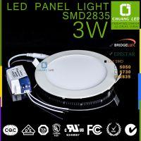 超薄led面板灯 平板灯3w 晶元芯片2835带导光板恒流驱动