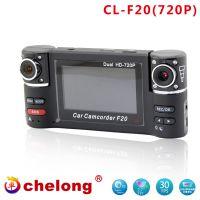 F20DVR2.7inch Wholsale car DVR dual camera recorder HD/1080P