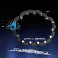 专业供应 自行车链条锁 折叠锁 电动车摩托车防盗锁 优质链条锁