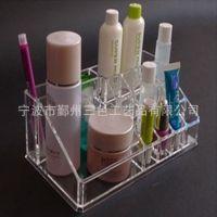 亚克力收纳盒 化妆品收纳盒盒 透明隔成护肤品置物盒厂家定做批发