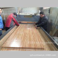 青岛徐氏伟业木工机械 专业生产 木门热转印机一次成型效果堪烤漆