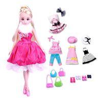 乐吉儿洋布芭比娃娃时尚换装H30B大礼盒正品公主女孩玩具礼物