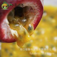 椰岛老农 海南 新鲜 水果 零售 批发 百香果2斤 洋石榴   西番莲