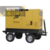 40kw静音柴油发电机/水利建设发电机
