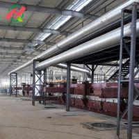 设计制造大中型保温材料玻璃棉生产线 建材生产机械设备