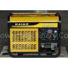 3000 rpm Double Cylinder 10Kw Diesel Generator , Open Type Diesel Generator
