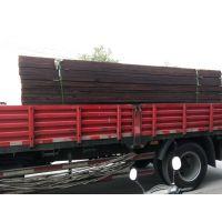 厂家批发花旗松碳化木户外地板 户外园林防腐木地板木方龙骨实木板材