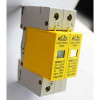 防雷模块40K2P C级浪涌保护器 110V二级防雷器网络SPD浪涌保护器