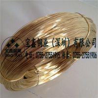 进口h62/h65黄铜线 环保黄铜丝 软态优质铜线 铜丝 品质保证