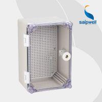 saipwell/赛普赛普透明盖防水配电箱 电表仪器接线箱300*200*160
