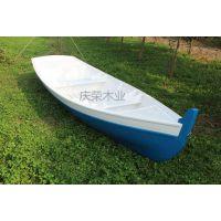 庆荣木业一头尖木船 欧式手划船 农用捕鱼木船 景观装饰船
