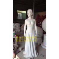 厂家直销 现代玻璃钢人物雕塑 优质园林人物雕塑 量大从优