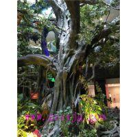 假树仿真榕树的工艺 仿真榕树树枝树叶装饰 园林工程