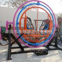 三维太空环、泰瑞游艺设备(图)、三维太空环游乐设备厂
