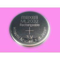 Maxell万胜ML2032纽扣电池3V充电电池