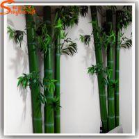 规格可定做仿真竹子 绿色装饰家居装饰竹子 背景墙毛竹细竹