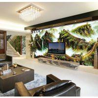 丽源 大型壁画壁纸 万里长城电视背景墙风景 现代客厅沙发墙墙纸