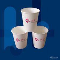 昆明领盾一次性纸杯定做能印刷logo昆明纸杯订购厂家直销