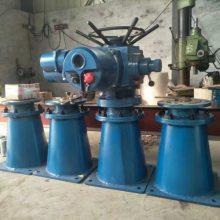 供应QDA-20手动电动一体铜螺母推力型电动头启闭机/防爆