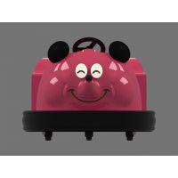 宝儿乐儿童娱乐玩具碰碰车 动漫公司形象玩具车定制厂家 小巧迷你的米奇老鼠碰碰车价格 好玩又好看