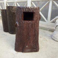 四川驰升批量供应景区仿树皮桌椅凳 仿木花箱/仿木垃圾桶/水泥仿木栏杆