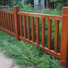 仿木栏杆,仿树皮栏杆,仿木围栏护栏,四川驰升品牌厂家直销