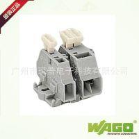 单边带按压键螺丝安装弹簧接线端子紧凑型261-301/331-00WAGO万可