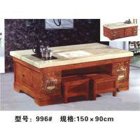 茶几 带大理石桌面 烤漆工艺 带抽屉 厂家直销 特价1300元