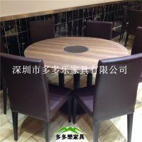 供应韩式新款防火板火锅桌DDL05 深圳多多乐家具