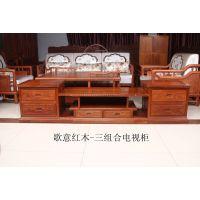 东阳红木家具厂-歌意红木电视柜批发-2.2米红木电视柜价格-红木家具古典文化讲解