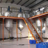 5t/d sunflower crude oil refinery for sale