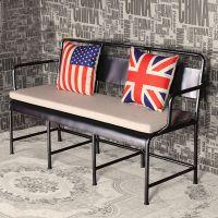 海德利厂家定制 美式乡村沙发 双人复古皮艺沙发 批发