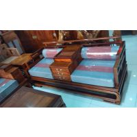 精品新中式软体沙发刺猬紫檀名琢世家