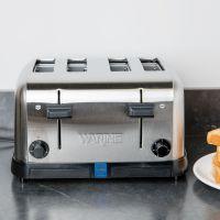 WCT708E 4片多士炉吐司机美国皇庭WARING弹出式烤面包片面包机