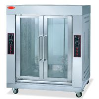 千麦QM-206-2立式双门电烤炉 烤鸡炉 烤兔机